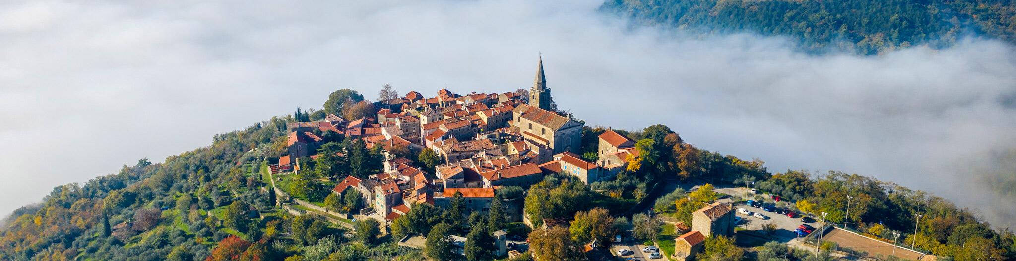 Groznjan travel in Istria